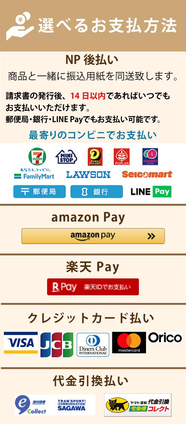 お支払について